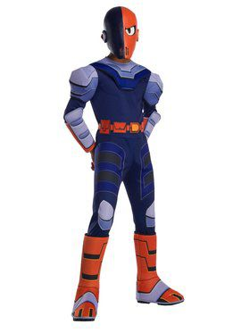 Deluxe Boys Teen Titan Go Movie Slade Costume