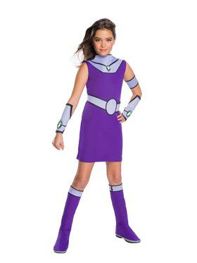 Deluxe Girls Teen Titan Go Movie Starfire Costume