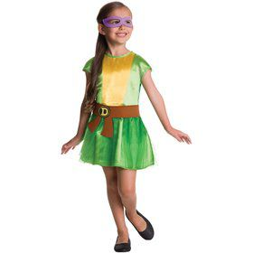 Teenage Mutant Ninja Turtles 4 in 1 Costume Kit For Girls