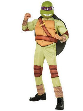 Child Teenage Mutant Ninja Turtles Deluxe Donatello Costume