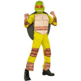 Child Teenage Mutant Ninja Turtles Deluxe Michelangelo Costume