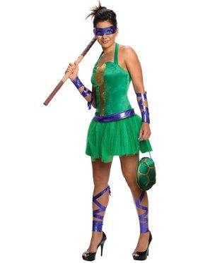 Womens TMNT Donatello Costume