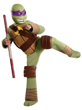 Teenage Mutant Ninja Turtles Donatello Boys Deluxe Costume