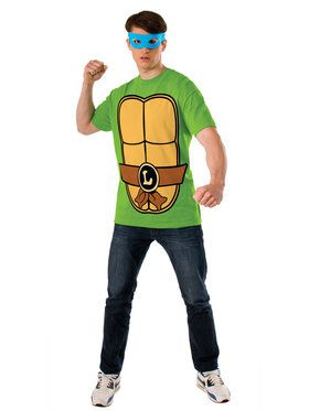 Adult TMNT Leonardo T-Shirt Kit