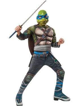 Teenage Mutant Ninja Turtles Leonardo Deluxe Costume