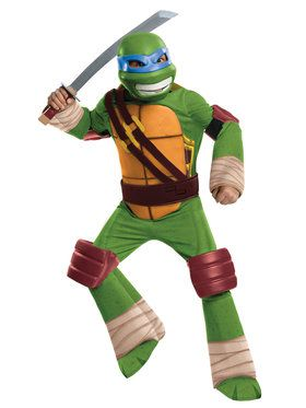 Teenage Mutant Ninja Turtles Leonardo TV Boys Deluxe Costume