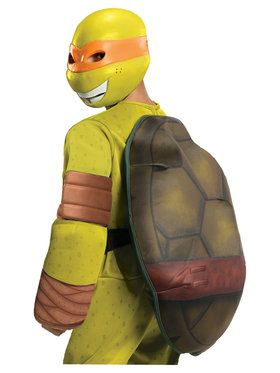 Teenage Mutant Ninja Turtles Michelangelo Boys Deluxe Costume