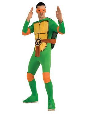 Teenage Mutant Ninja Turtles Michelangelo Adult Costume
