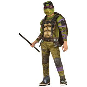 Child Teenage Mutant Ninja Turtles Movie Deluxe Donatello Costume