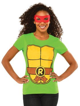Adult TMNT Raphael T-Shirt Kit