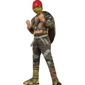 Child Teenage Mutant Ninja Turtles Movie Deluxe Raphael Costume