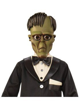 The Addams Family Kids Lurch's 1/2 Mask