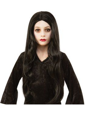 The Addams Family Kids Morticia Wig