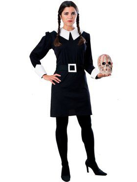 The Addams Family Wednesday Adult Costum