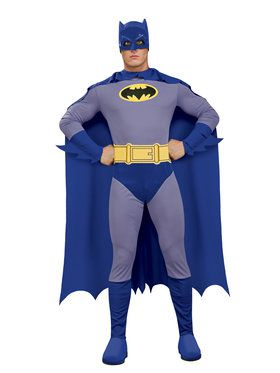 The Brave and the Bold Mens Batman Costume