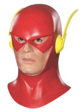 The Flash Mask W/ Cowl