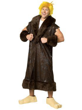 The Flintstones - Barney Rubble Adult Classic X-Large Costume