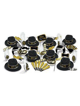 The Great 1920's New Year Assorted Party Kit for 50
