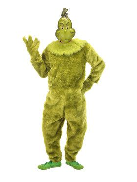 The Grinch Deluxe Adult Jumpsuit