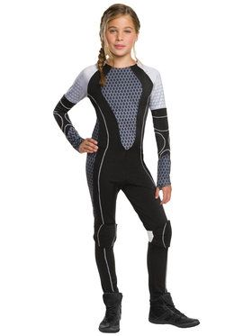 Tween Hunger Games Catching Fire Katniss Costume