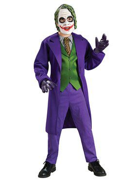 Kids The Joker Batman CostumeDeluxe