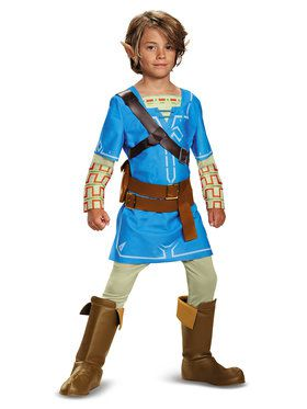 The Legend of Zelda: Link Child Breath of the Wild Costume