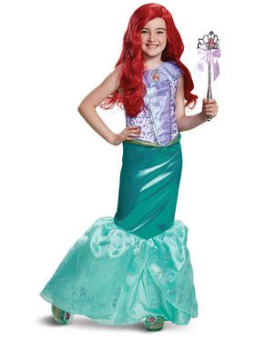 Toddler Deluxe Ariel Little Mermaid Costume