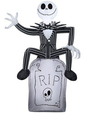 The Nightmare Before Christmas Airblown Jack Skellington