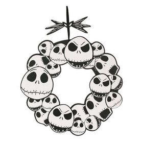 "Nightmare Before Christmas Jack Skellington 17"" Hanging Door Decoration"
