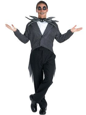 Teen Jack Skellington The Nightmare Before Christmas Costume
