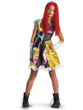 Child Sally The Nightmare Before Christmas Costume