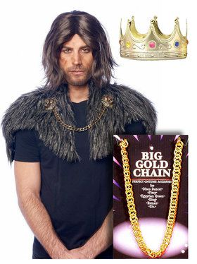 The Prince Coming To America Costume Kit