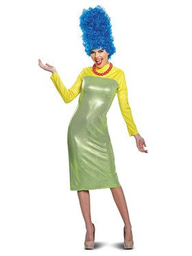 The Simpsons Marge Deluxe Adult Costume