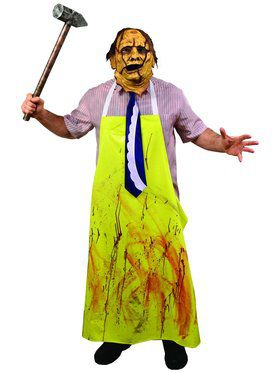 The Texas Chainsaw Massacre Adult Leatherface Costume