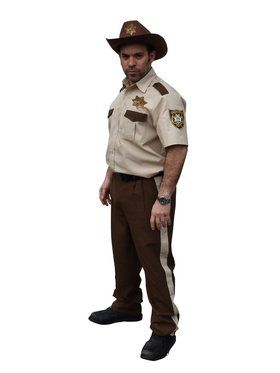 The Walking Dead Adult Rick Grimes' Sheriff Costume