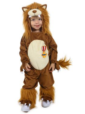 The Wizard of Oz Cowardly Lion Costume for Toddlers