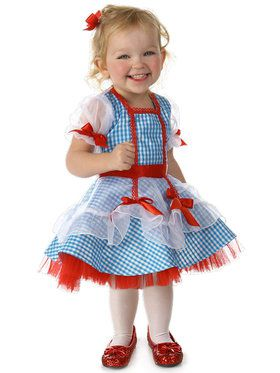 Toddler's The Wizard of Oz Dorothy Costume