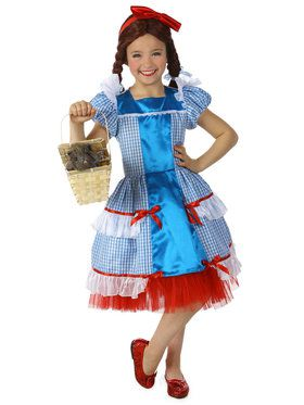 The Wizard Of Oz Girls Dorothy Sassy Costume Costume