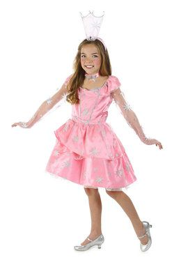 The Wizard Of Oz Glinda Sassy Girls Costume