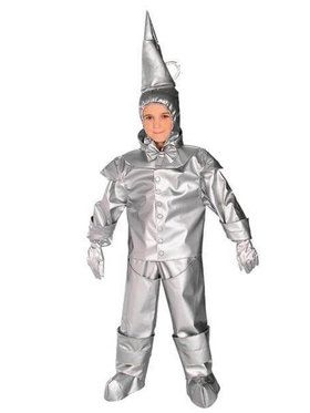 The Wizard of Oz Premium Tinman Costume For Toddlers/Children