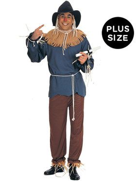 Adult Plus The Wizard of Oz Scarecrow Costume