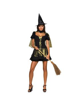 Sexy Wicked Witch of the West Wizard of Oz Womens Costume