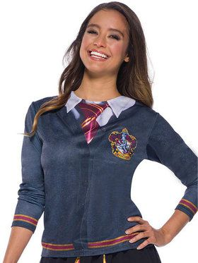 The Wizarding World Of Harry Potter Adult Gryffindor Costume Top