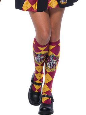 The Wizarding World Of Harry Potter Adult Gryffindor Socks