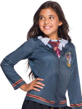 The Wizarding World of Harry Potter Gryffindor Costume Top for Girls