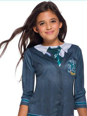 The Wizarding World of Harry Potter Slytherin Costume Top for Children