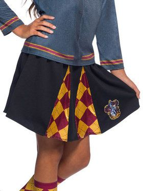 The Wizarding World Of Harry Potter Girls Gryffindor Skirt