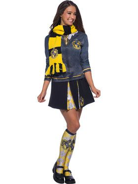 The Wizarding World of Harry Potter Deluxe Hufflepuff Scarf