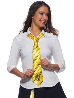 The Wizarding World Of Harry Potter Hufflepuff Tie