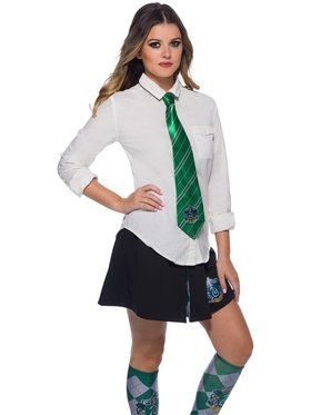 The Wizarding World of Harry Potter Slytherin Tie for Girls